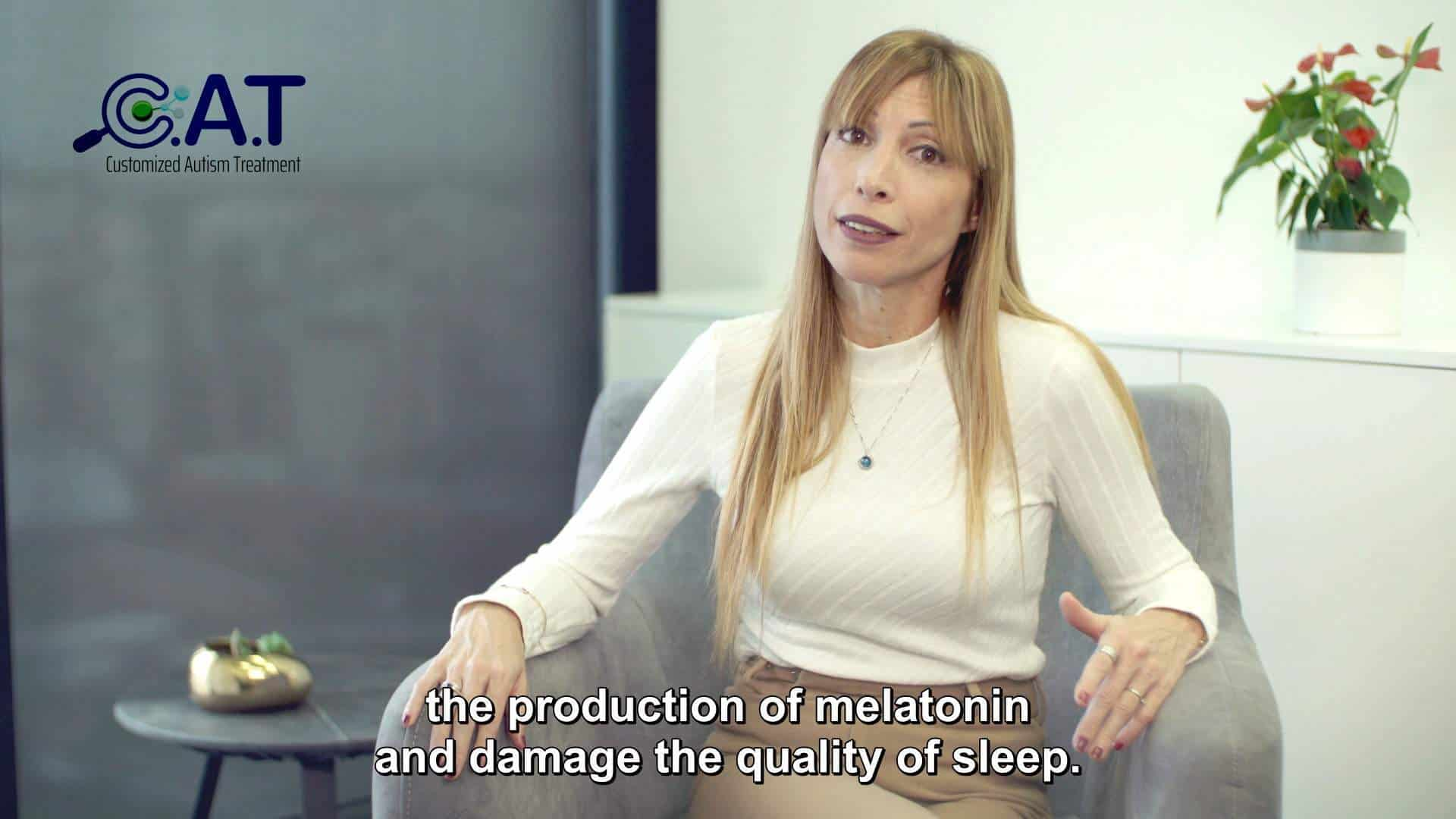 C.A.T Center   Autism and Sleeping Problems <br> (English Subtitles)